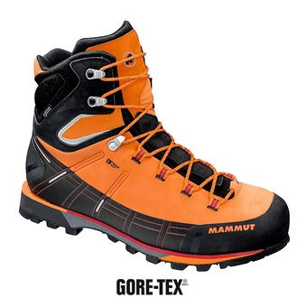 Mammut KENTO HIGH GTX - Zapatillas de alpinismo hombre sunrise/black