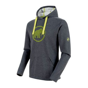 Sudadera hombre MAMMUT LOGO ML graphite melange/sprout