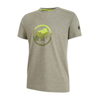 Tee-shirt MC homme TROVAT iguana melange