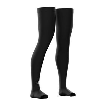 Compressport TOTAL FULL - Leg Sleeves - black