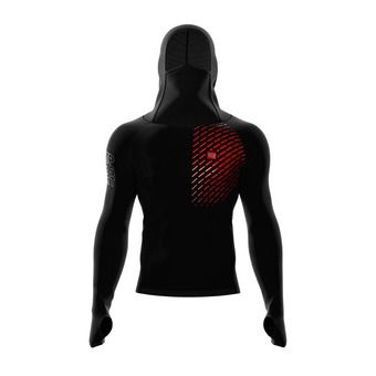 Sweat à capuche homme 3D THERMO OXYGEN RACING noir