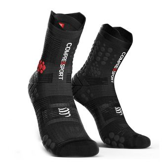 Compressport PRORACING V3 TRAIL - Chaussettes noir