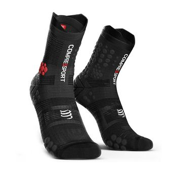 Compressport PRORACING V3 TRAIL - Chaussettes black