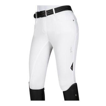 Pantalon fond de peau siliconé femme NELLY blanc