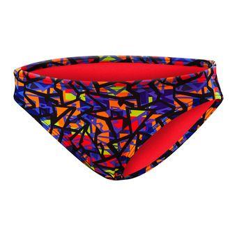 Bas de maillot de bain femme COSTA MESA CLASSIC orange/purple