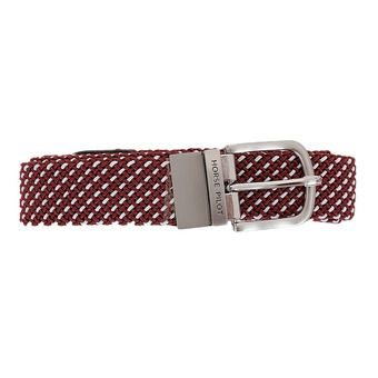 Ceinture EXCHANGE II bordeaux/blanc