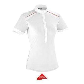 Chemise de concours MC femme AERIAL II blanc