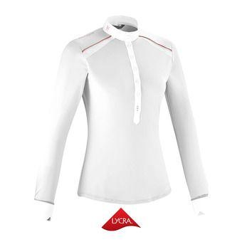 Polo de concours ML femme AERIAL II blanc