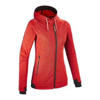 Sudadera mujer TEMPEST II red