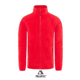 Chaqueta polar Polartec® hombre 100 GLACIER red