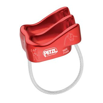 Petzl VERSO - Système d'assurage rouge