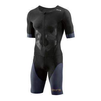 Combinaison trifonction zip avant homme TRI400 black/carbon