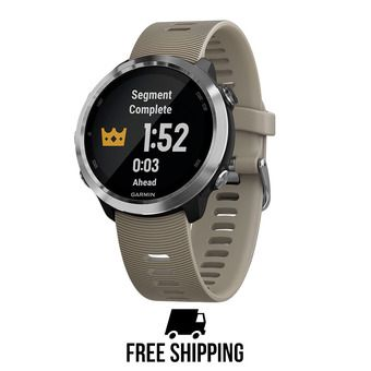 Reloj GPS FORERUNNER® 645 beige