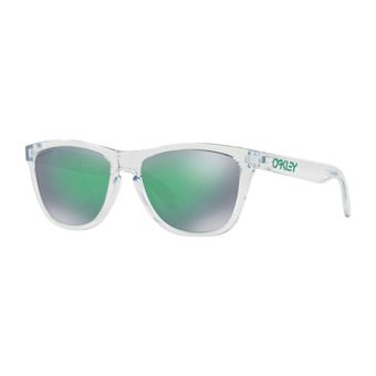 Oakley FROGSKINS - Sunglasses - crystal clear/prizm jade