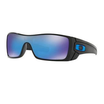 Oakley BATWOLF - Sunglasses - polished black/prizm sapphire