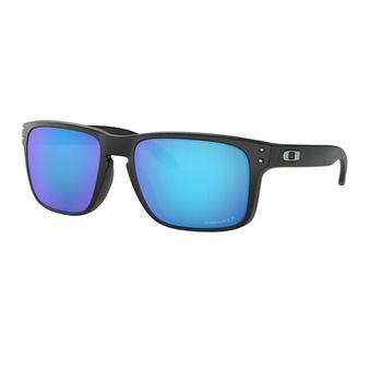 Oakley HOLBROOK - Polarised Sunglasses - matt black/prizm sapphire