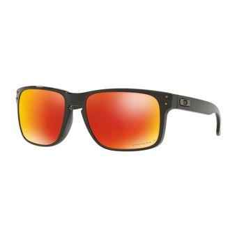 Oakley HOLBROOK - Gafas de sol polarizadas polished black/prizm ruby
