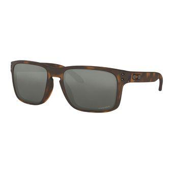 Oakley HOLBROOK - Lunettes de soleil matte brown tortoise/prizm black