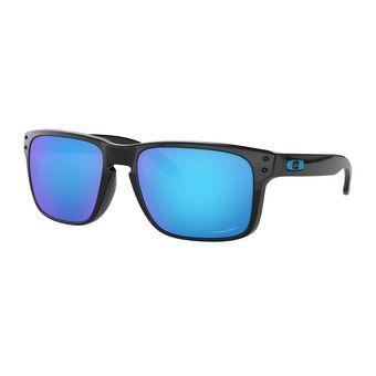 Oakley HOLBROOK - Sunglasses - polished black/prizm sapphire