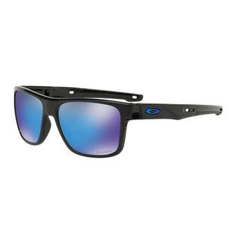 Oakley CROSSRANGE - Gafas de sol polished black/prizm sapphire