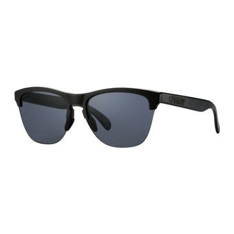 Oakley FROGSKINS LITE - Sunglasses - matt black/grey