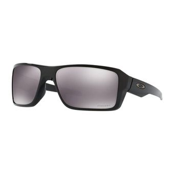 Oakley DOUBLE EDGE - Lunettes de soleil polished black/prizm black