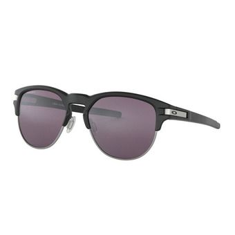 Oakley LATCH KEY - Sunglasses - matt black/prizm grey
