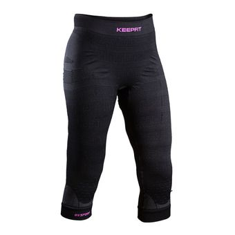 Bv Sport KEEP FIT - Collant 3/4 Femme noir