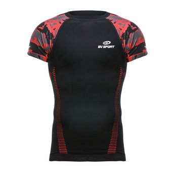 Bv Sport RTECH - Maillot Homme army/noir