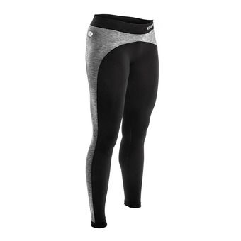 Legging anti-cellulite femme KEEPFIT noir/gris