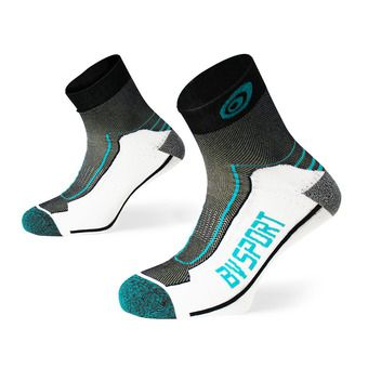 Bv Sport DOUBLE POLYAMIDE LOW - Calcetines black/blue