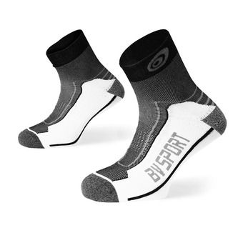 Bv Sport DOUBLE POLYAMIDE - Calcetines black/grey