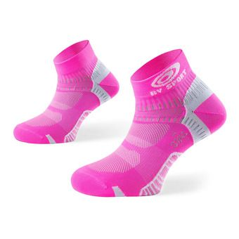 Socquettes de running femme LIGHT ONE rose