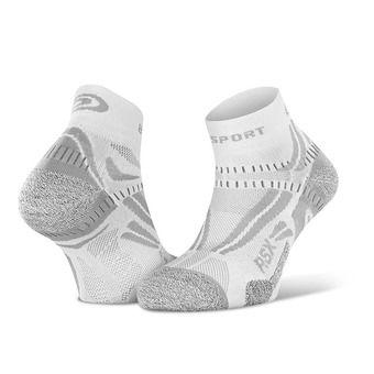 Bv Sport RSX EVO - Chaussettes blanc/gris