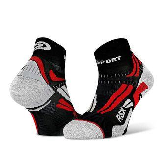 Bv Sport RSX EVO - Socks - black/red