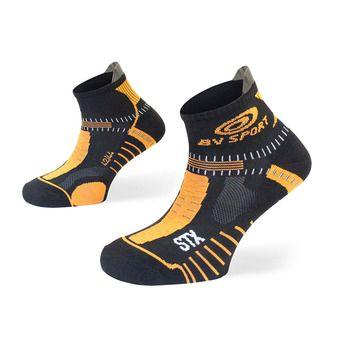 Bv Sport STX EVO - Calcetines black/orange
