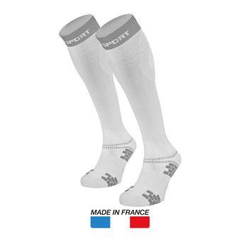 Calcetines de compresión XLR EVO blanco/gris