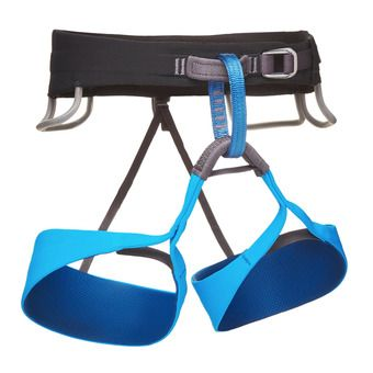 Arnés hombre SOLUTION black/ultra blue