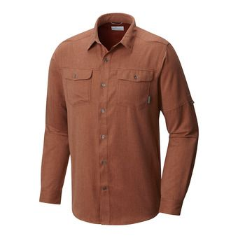 Chemise ML homme PILSNER LODGE rusty heather