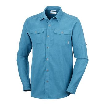Chemise ML homme PILSNER LODGE phoenix blue heather