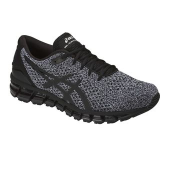 Chaussures running homme GEL-QUANTUM 360 KNIT 2 black/white/black