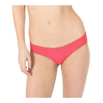 Bas de maillot femme UNIQUE BRIEF fluo red/yellow star