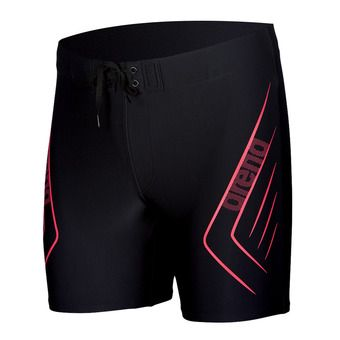 Jammer hombre REFLECTED black/fluo red