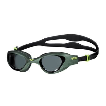 Gafas de natación THE ONE smoke deep green/black