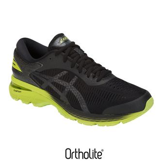 Chaussures running homme GEL-KAYANO 25 black/neon lime