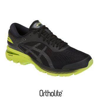 Zapatillas de running hombre GEL-KAYANO 25 black/neon lime