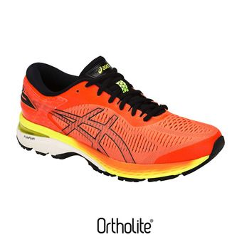 Chaussures running homme GEL-KAYANO 25 shocking orange/black
