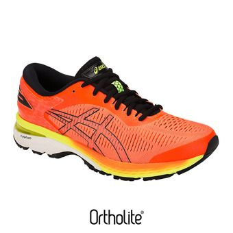 Asics GEL-KAYANO 25 - Zapatillas de running hombre shocking orange/black