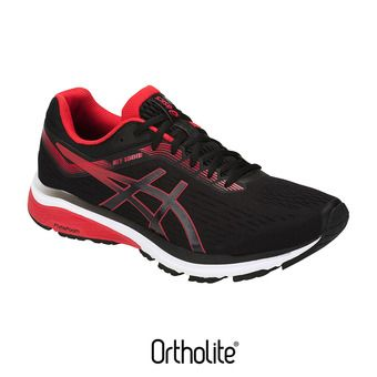 Asics GT-1000 7 - Chaussures running Homme black/red alert