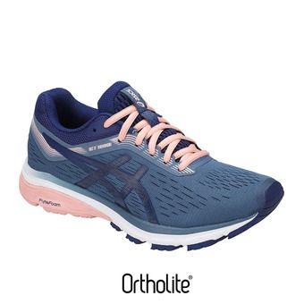 Chaussures running femme GT-1000 7 azure/blue print